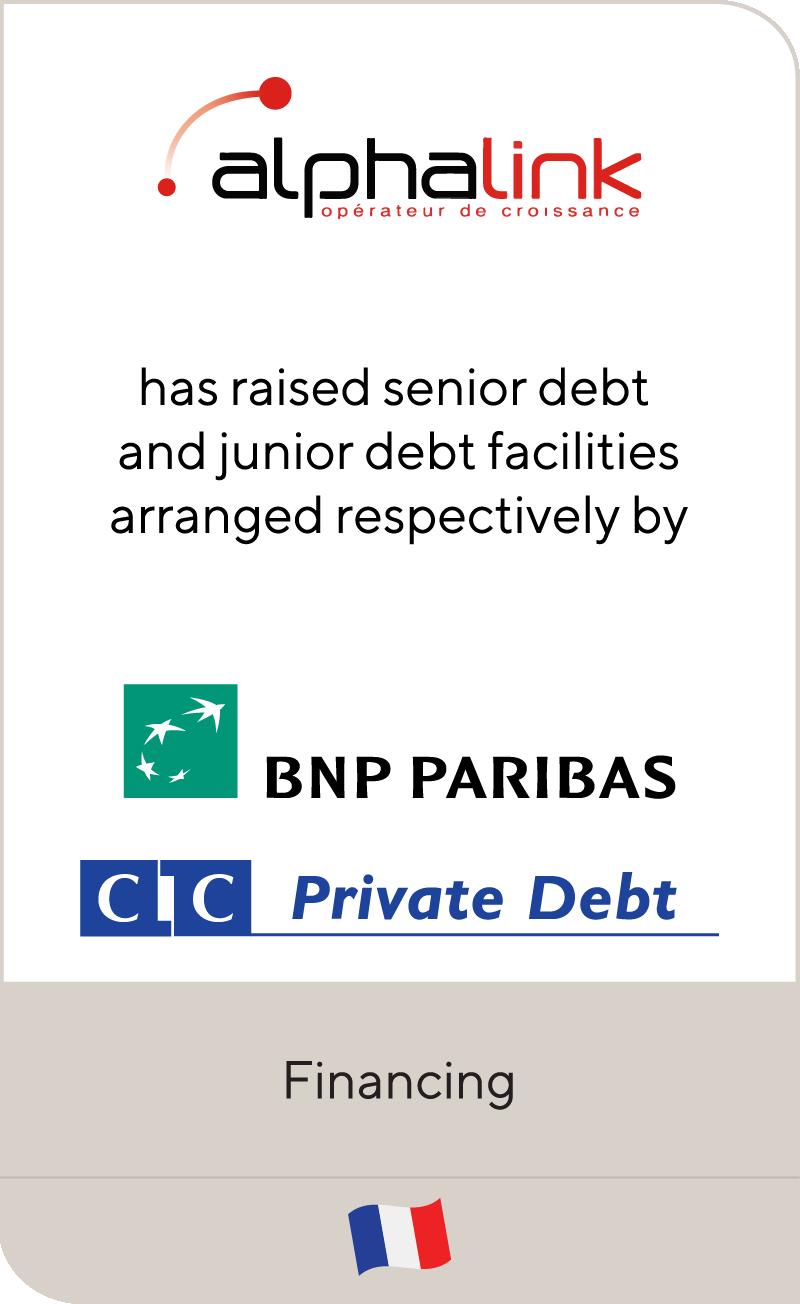 Alphalink BNP Paribas CIC Private Debt 2021