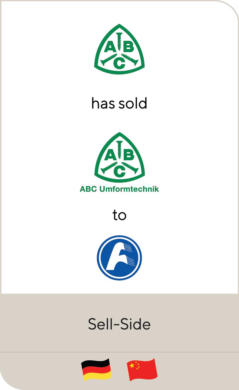 Altenloh Brinck ABC Umformtechnik Fawer Automotive Parts 2020