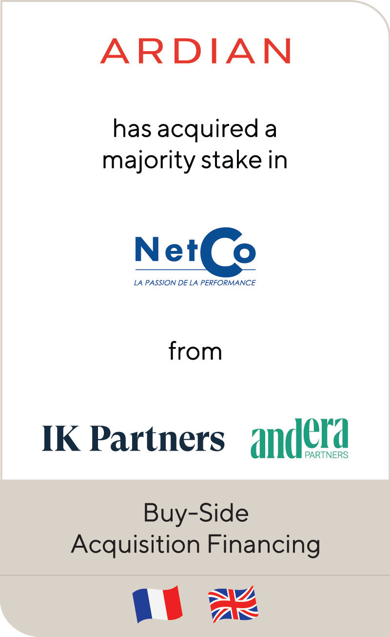 Ardian NetCo IK Investment Partners Andera Partners 2021