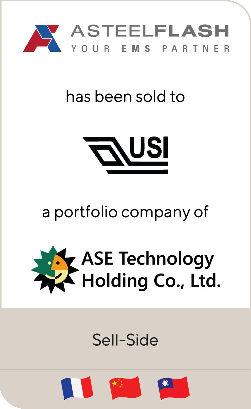 Asteelflash Universal Scientific Industrial ASE Technology Holdings 2020