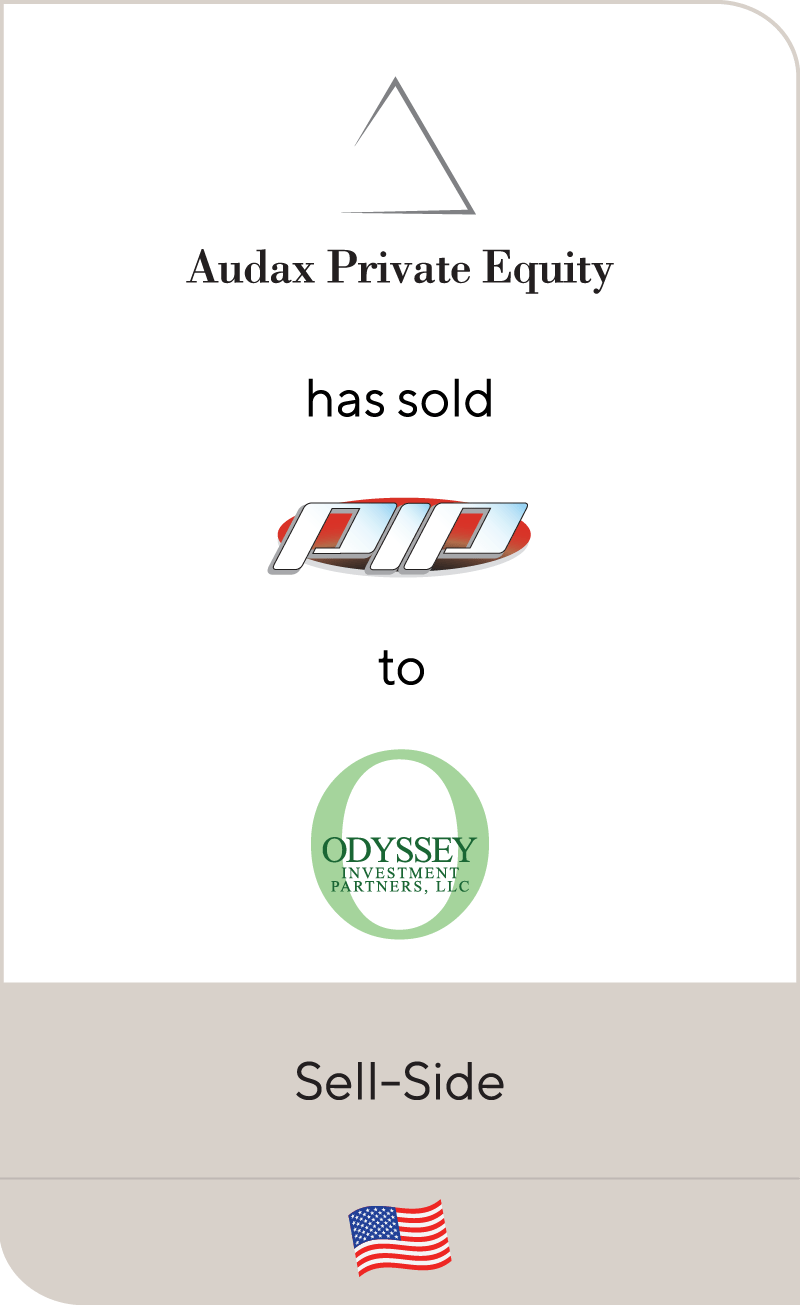 Audax Private Equity PIP Odyssey 2020