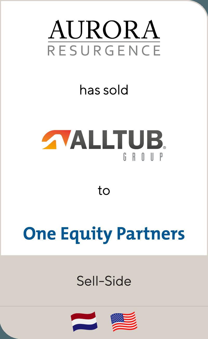 Aurora Resurgence Alltub Group One Equity Partners 2018
