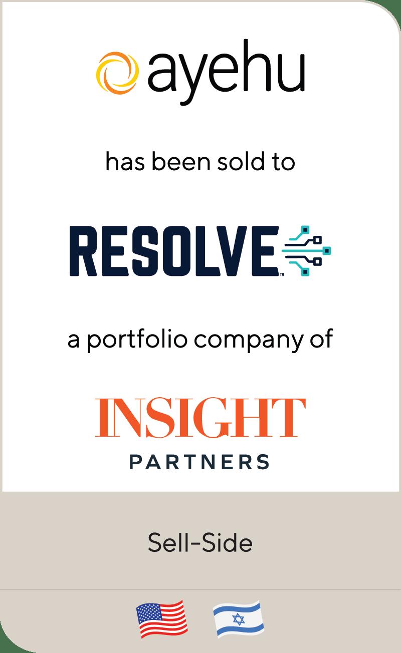 Ayehu Software Resolve Systems Insight Partners 2021