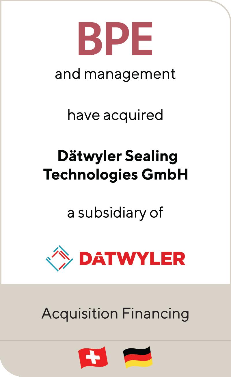 BPE Management Datwyler 2020
