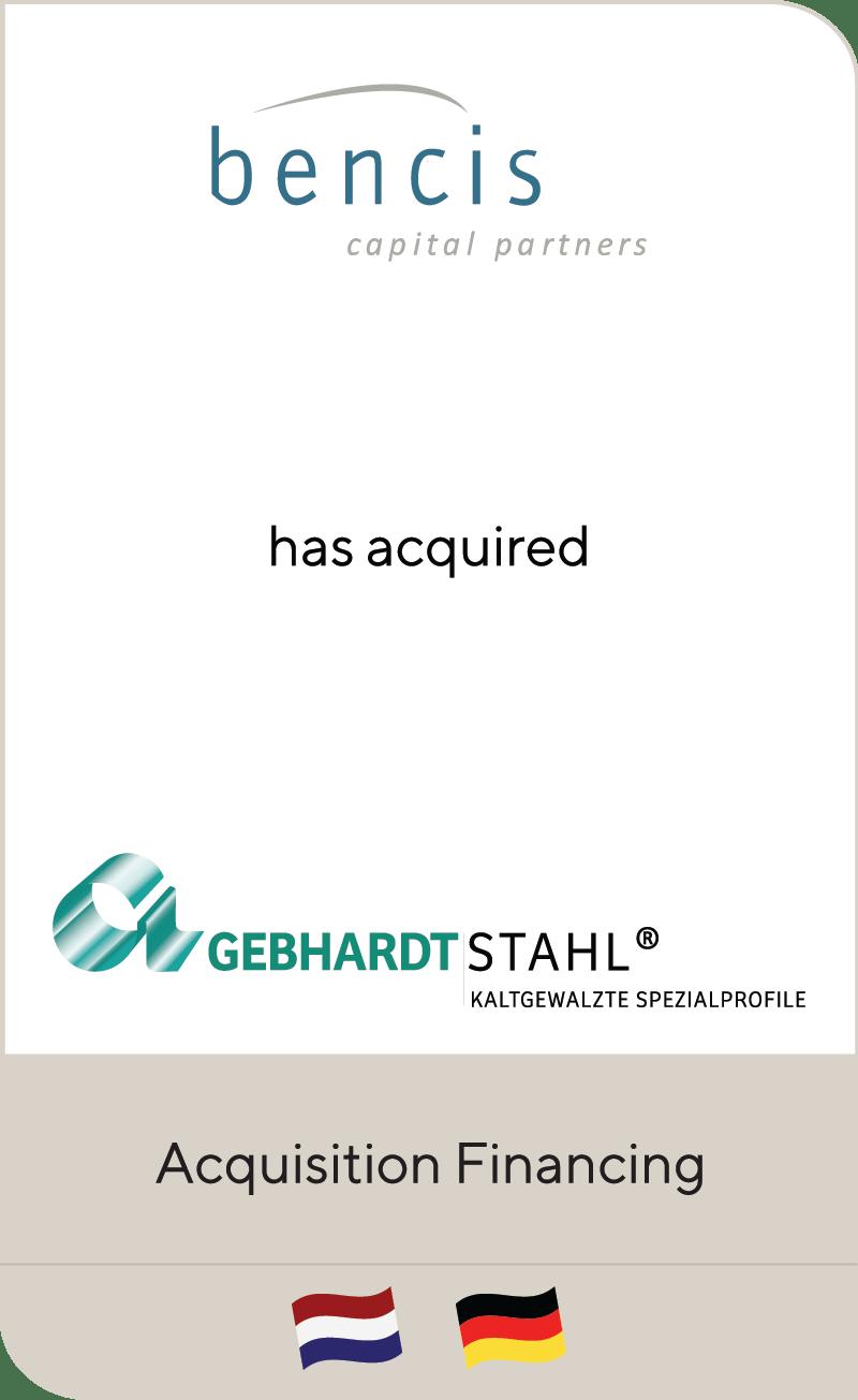 Bencis Gebhardt Stahl 2019