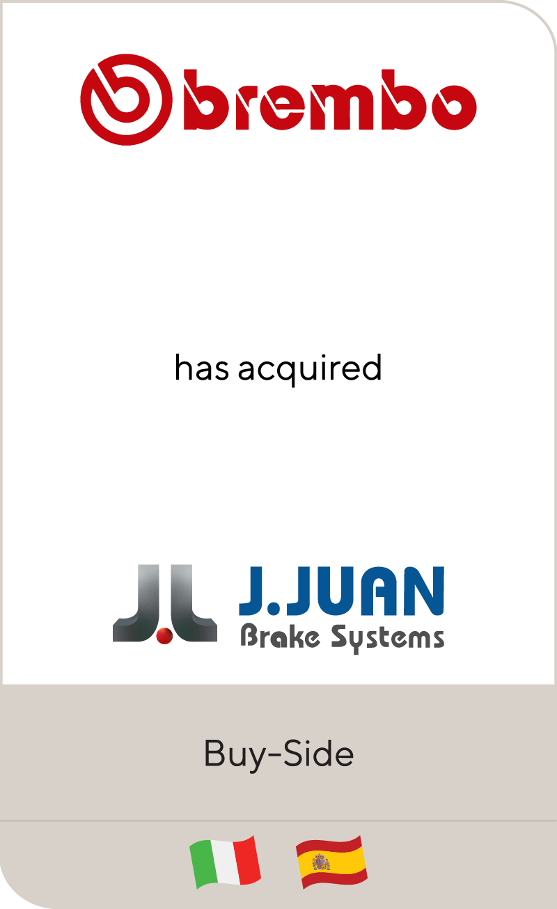 Brembo J Juan Group 2021