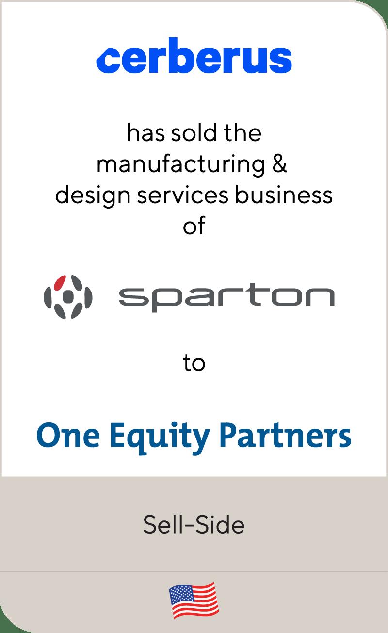 Cerberus Sparton One Equity Partners 2020
