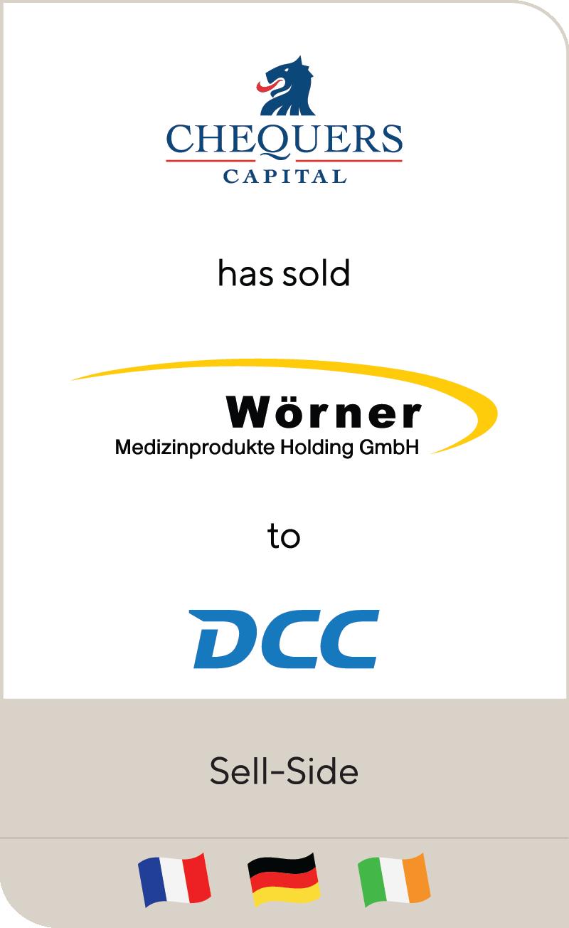 Chequers Capital Worner Medizinprodukte Und Logistik DCC 2021