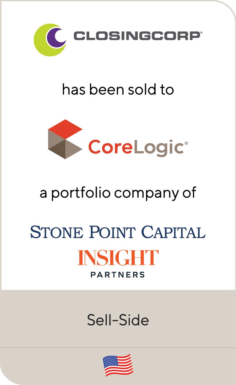 ClosingCorp CoreLogic StonePoint InSight Partners 2021