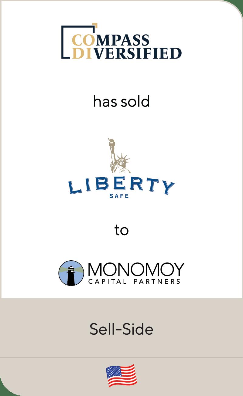 Compass Diversified Liberty Safe Monomoy Capital Partners 2021
