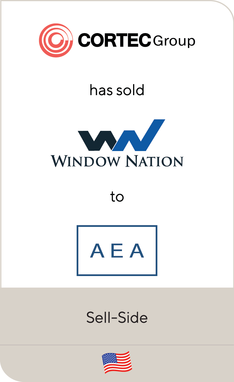 Cortec Group Window Nation AEA Investors 2021