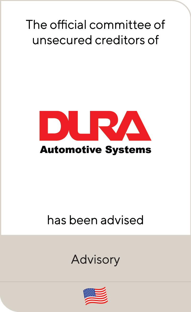 Dura Automotive Systems 2020