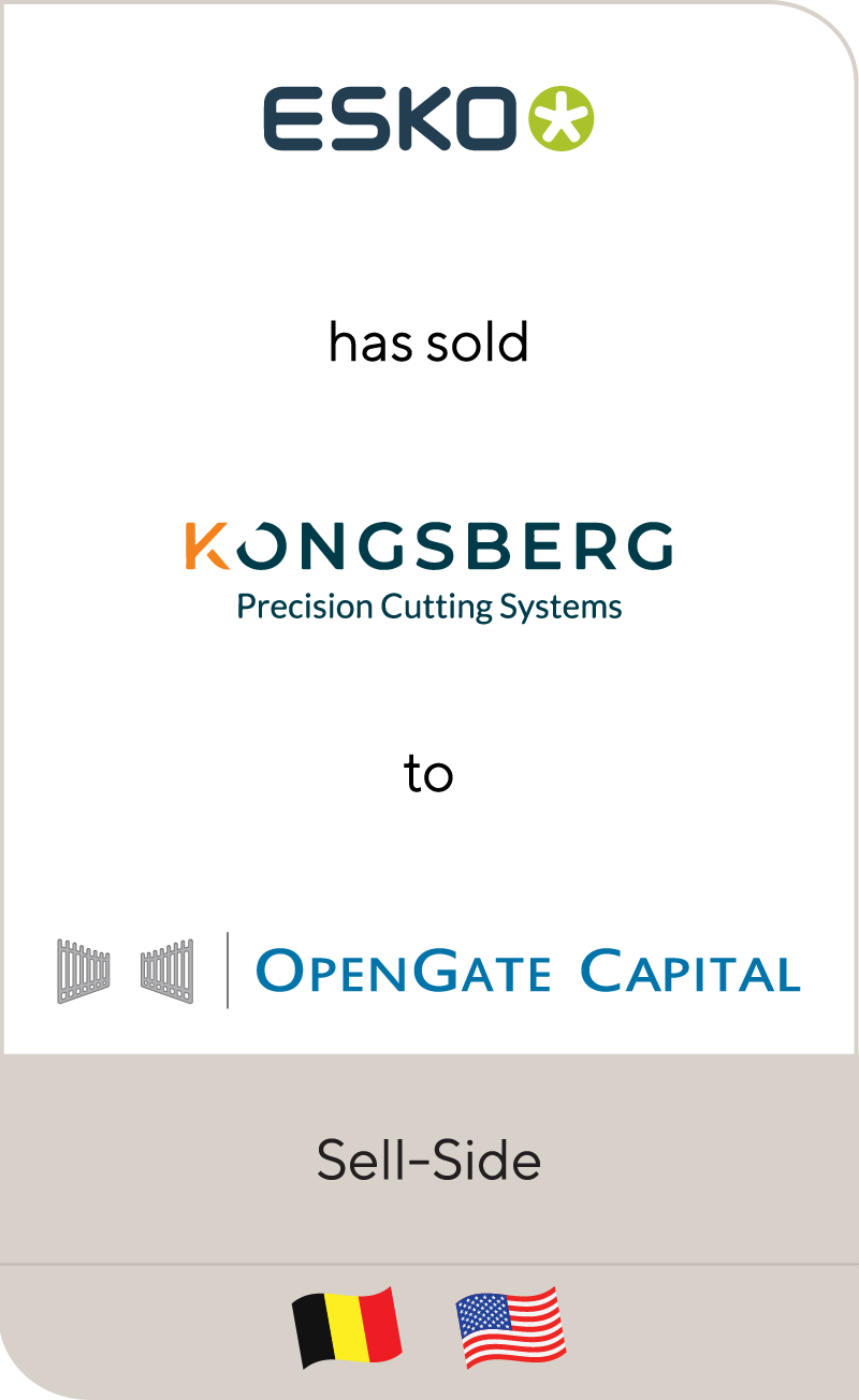 Esko Konsberg OpenGate Capital 2021