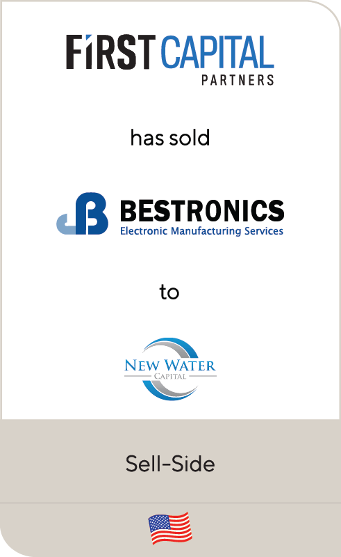First Capital Partners Bestronics New Water Capital 2019