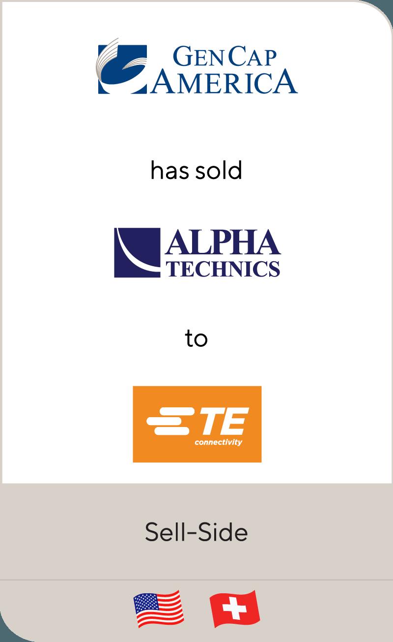 Gen Cap America Alpha Technics TE Connectivity 2019