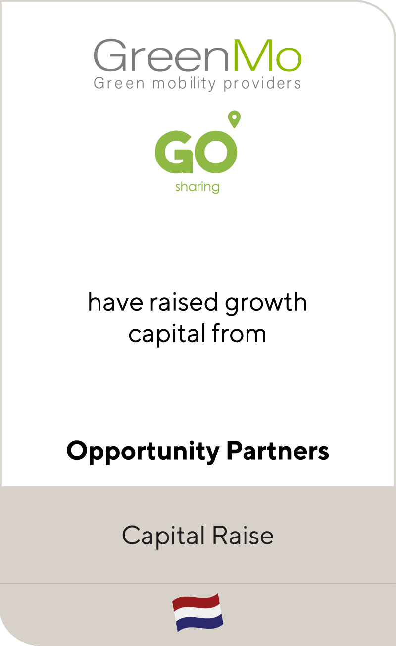 GreenMo Go Sharing Opportunity Partners 2021
