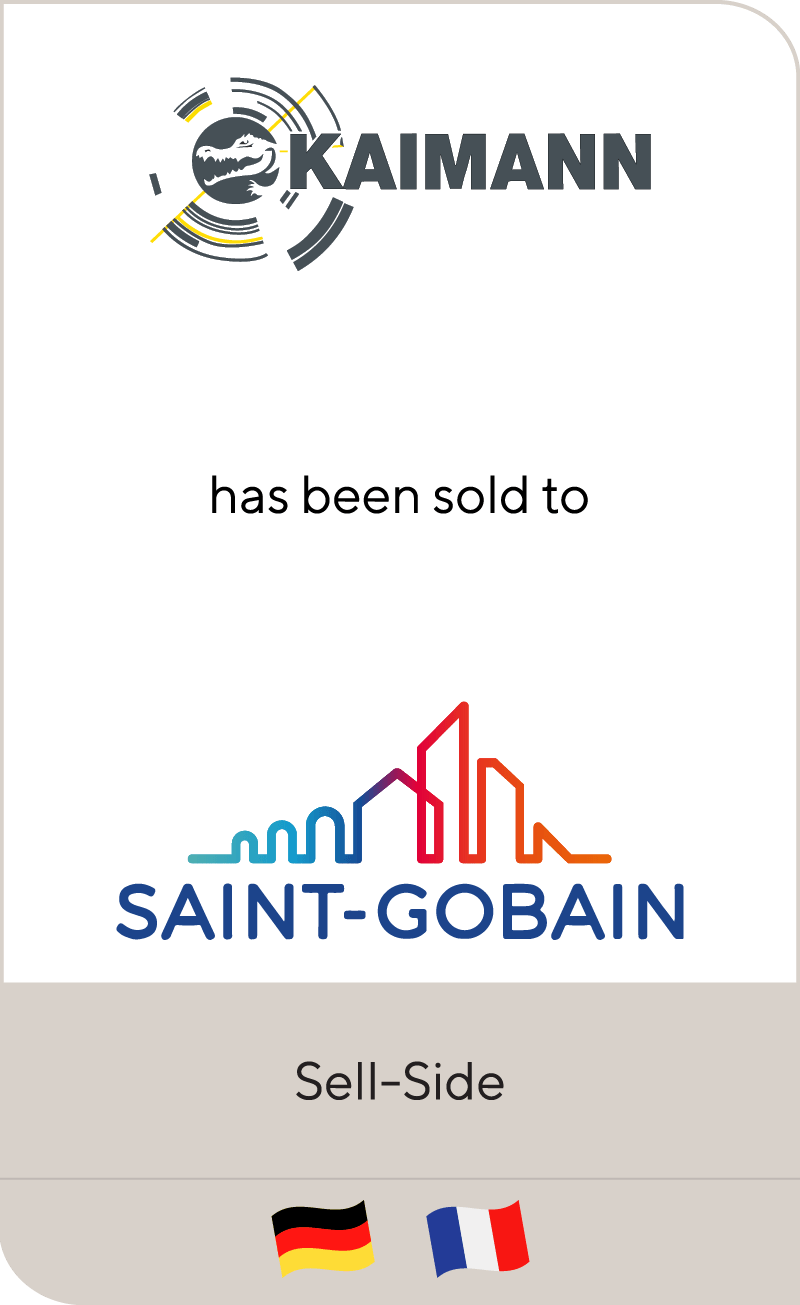 Kaimann has been sold to Saint-Gobain