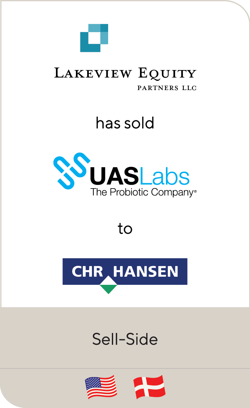 Lakeview Equity Partners UAS Labs CHR Hansen 2020