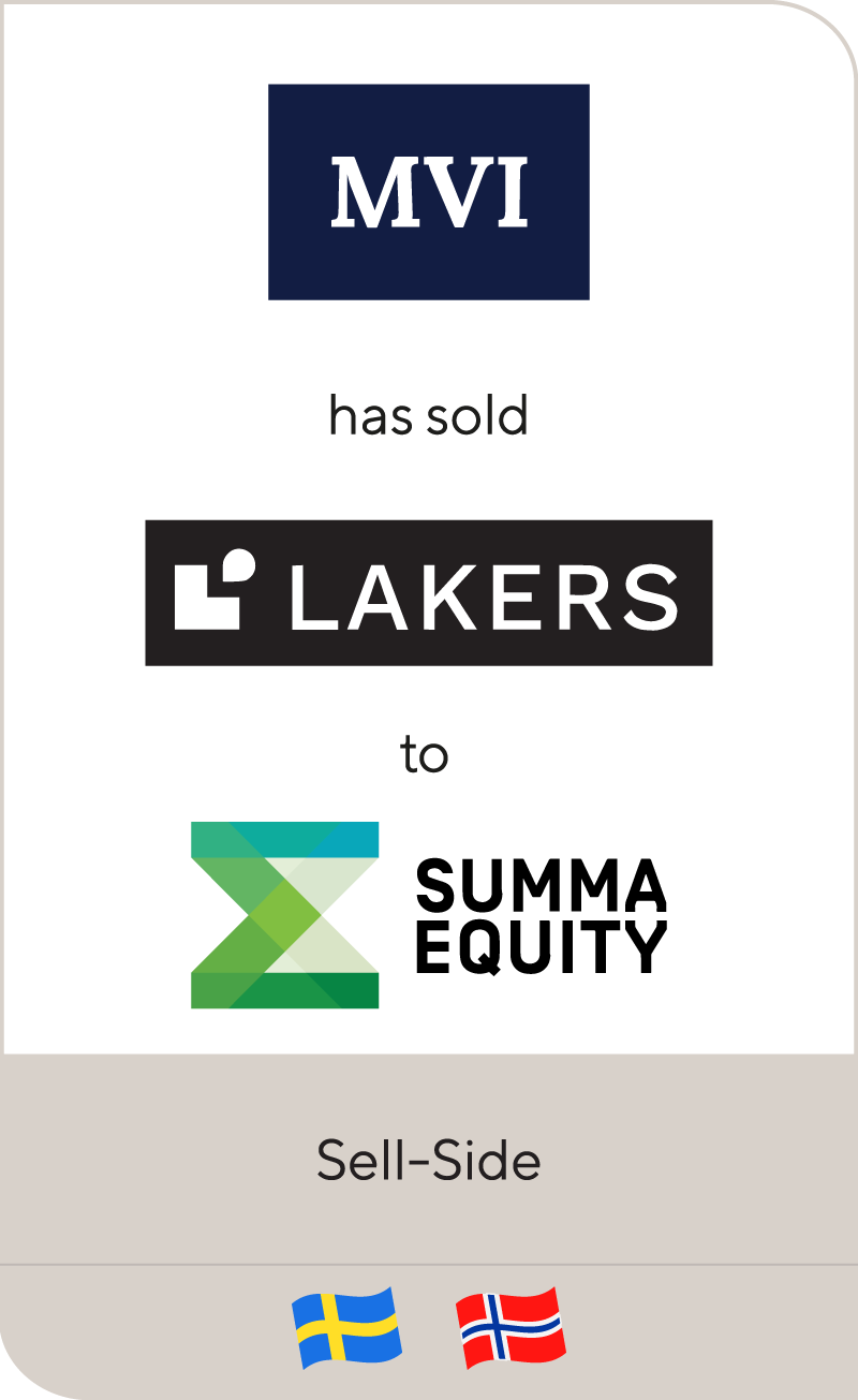 Lakers Holding AB has been sold to Summa Equity