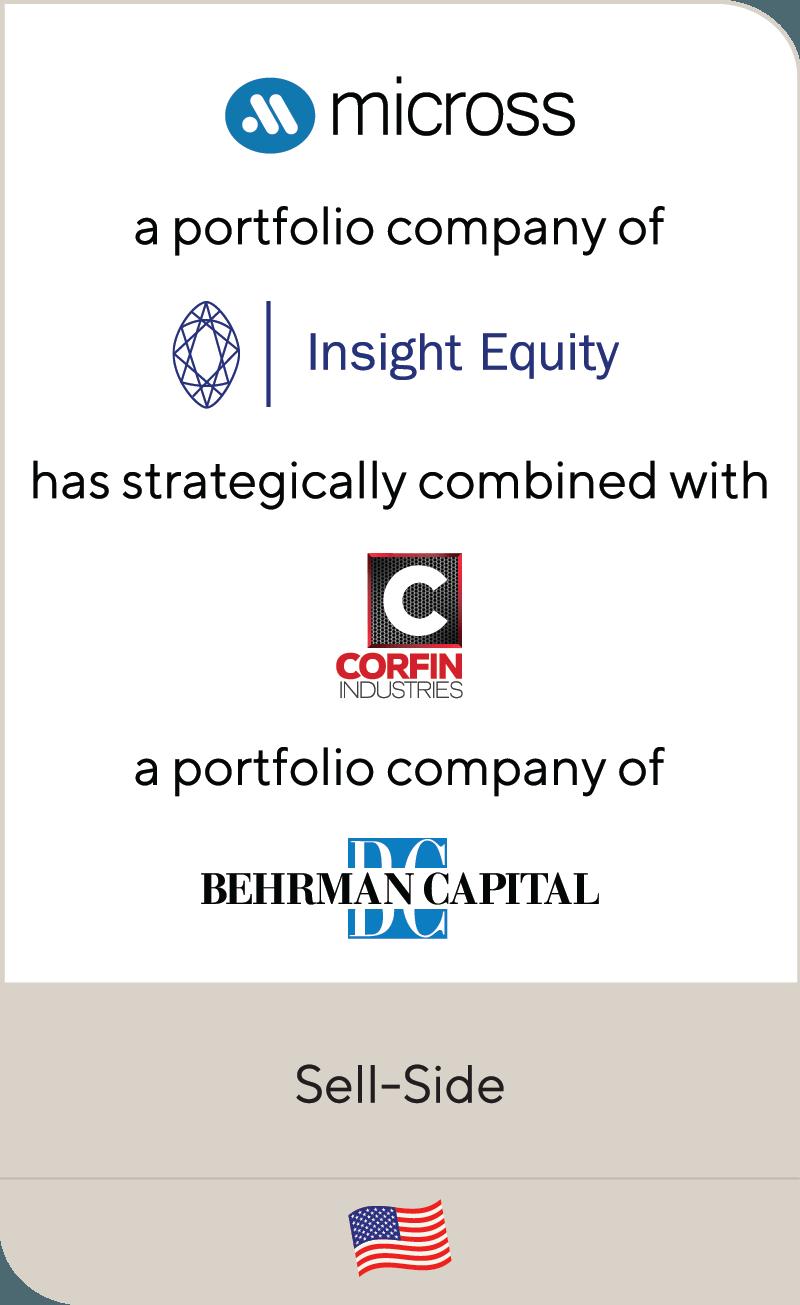 Micross Insight Equity Corfin Industries Behrman Capital 2020