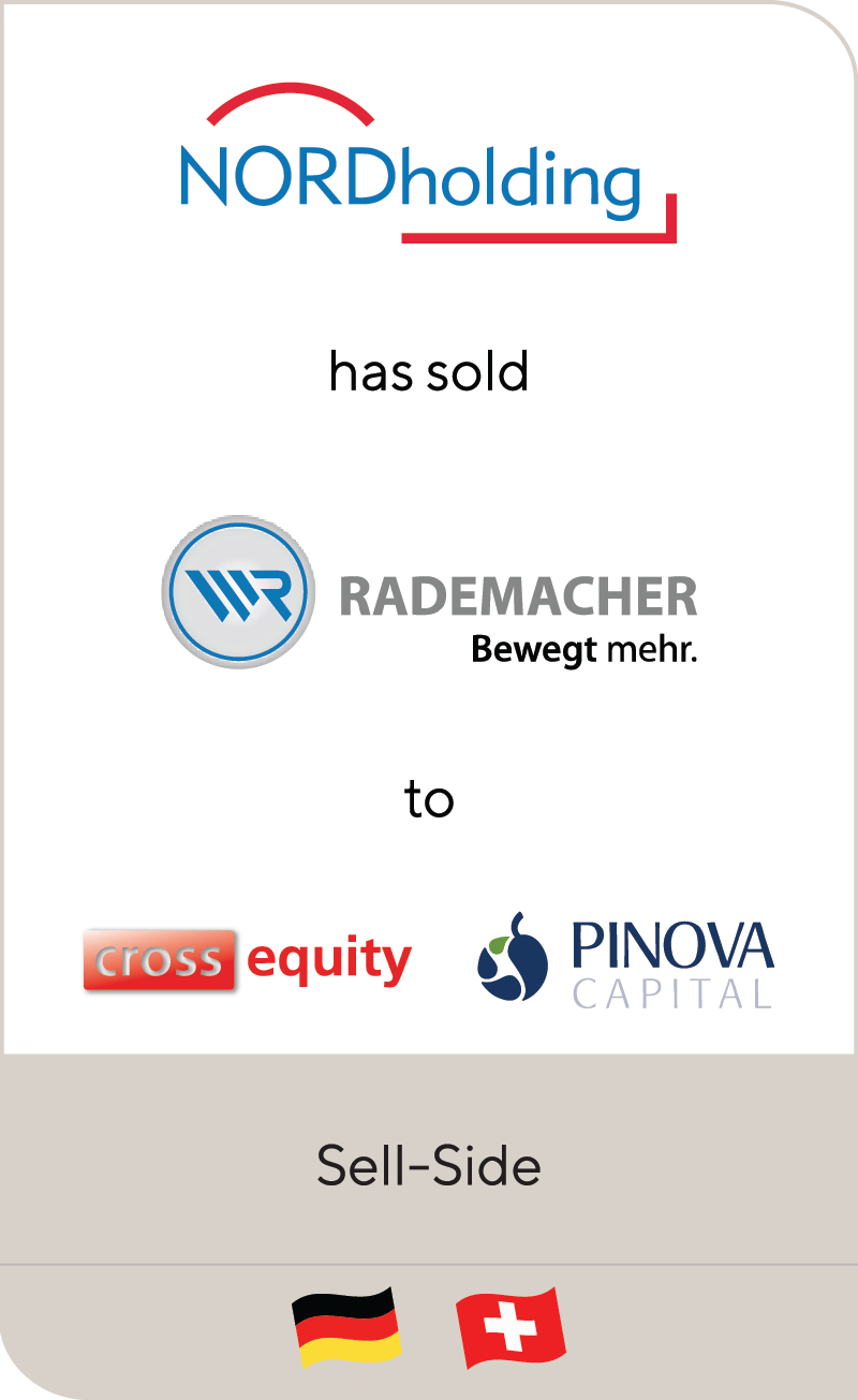 NORD Holding Rademacher Cross Equity Partners Pinova Capital 2014