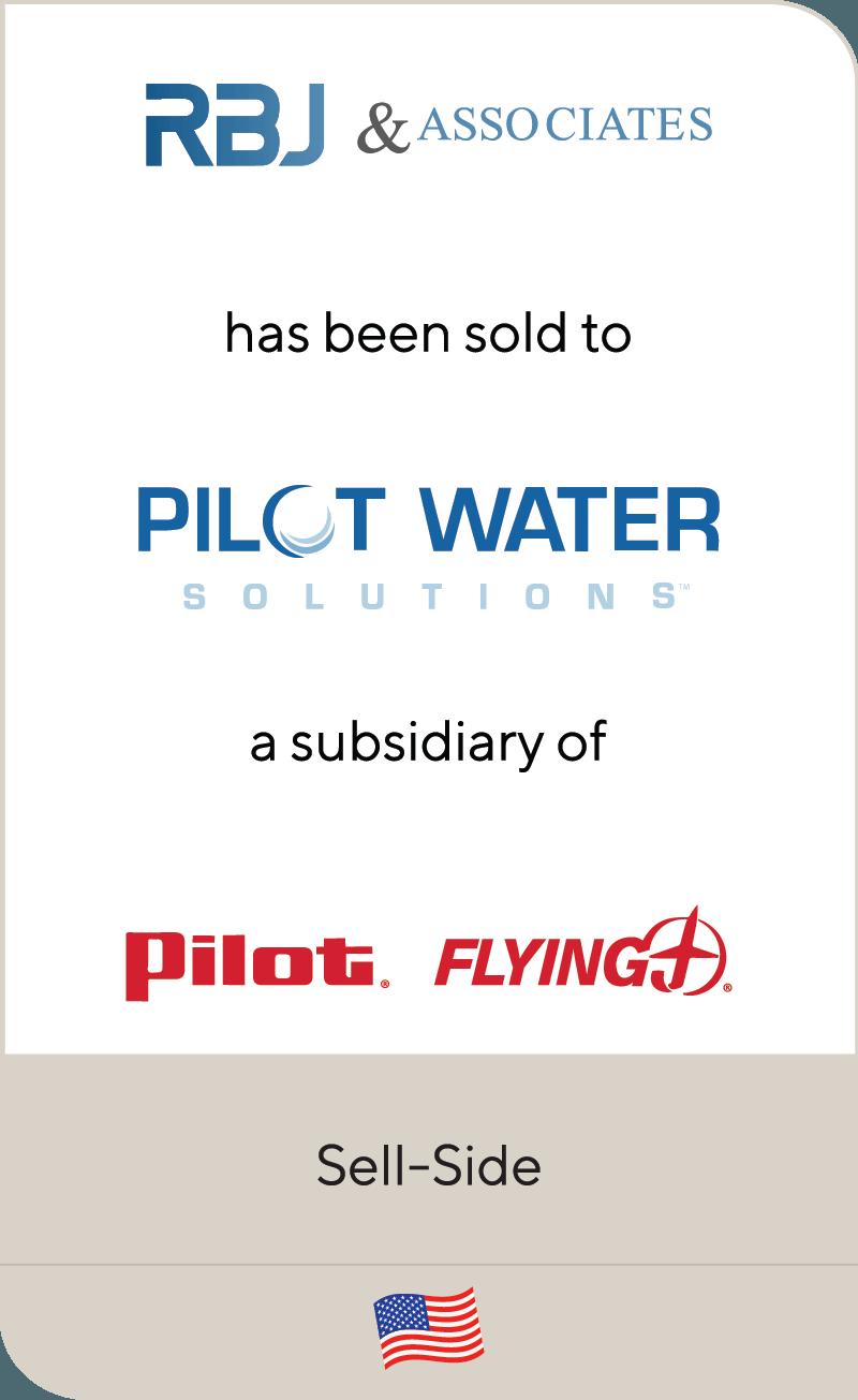 RBJ & Associates Pilot Water Solutions Pilot Flying 2019