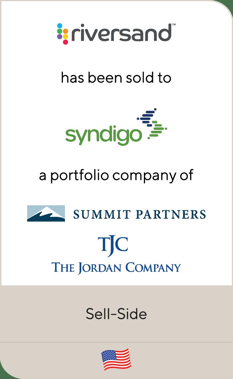 Riversand Syndigo Summit Partners Jordan Company 2021