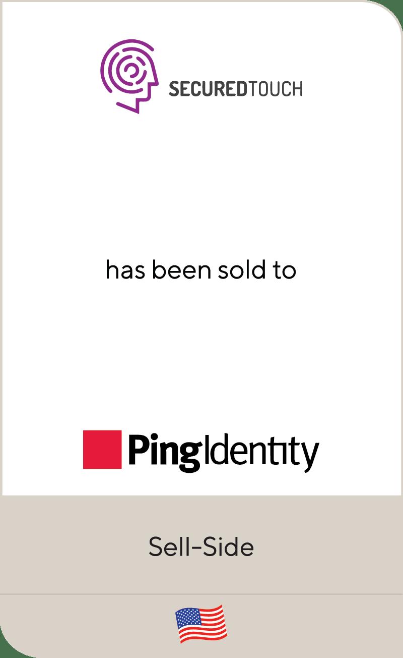 SecuredTouch PingIdentity 2021
