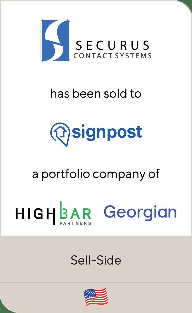 Securus Contact Systems Signpost HighBar Partners Georgian 2021