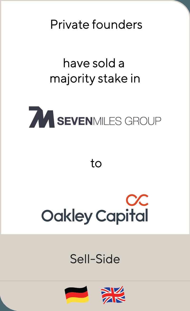 Seven Miles Group Oakley Capital 2019