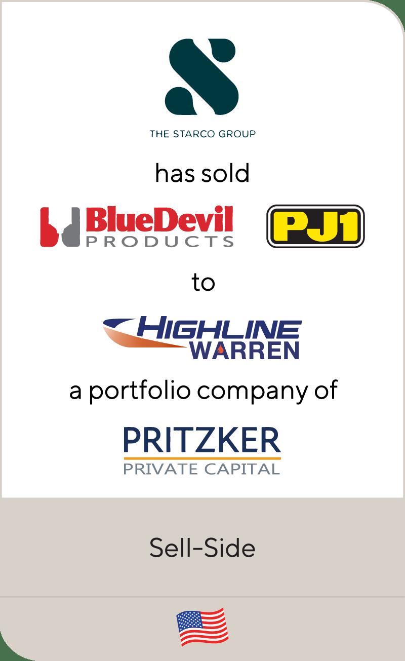 Starco Blue Devil PJ1 Highline Warren Pritzker Private Capital 2020