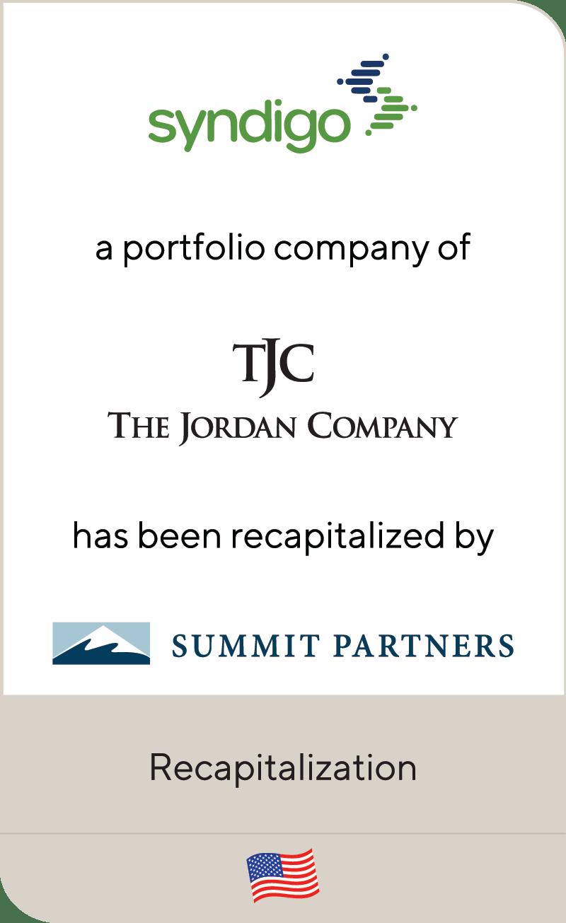 Syndigo Jordan Company Summit Partners 2020