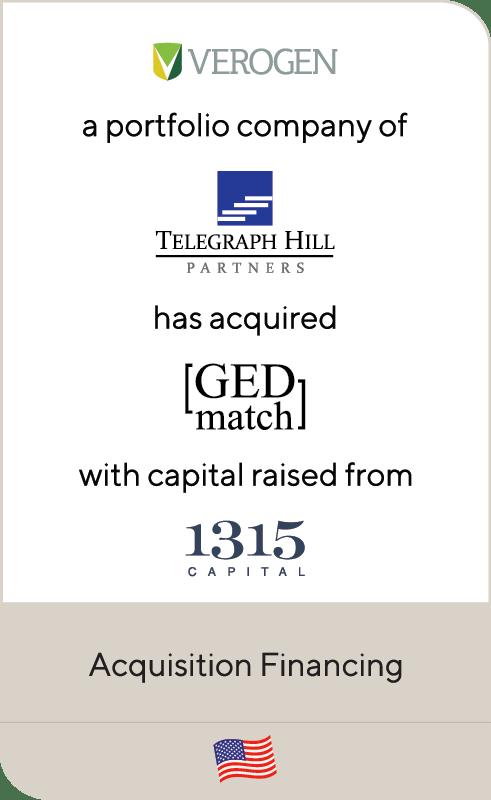 Verogen Telegraph GED Match 1315 Capital 2019